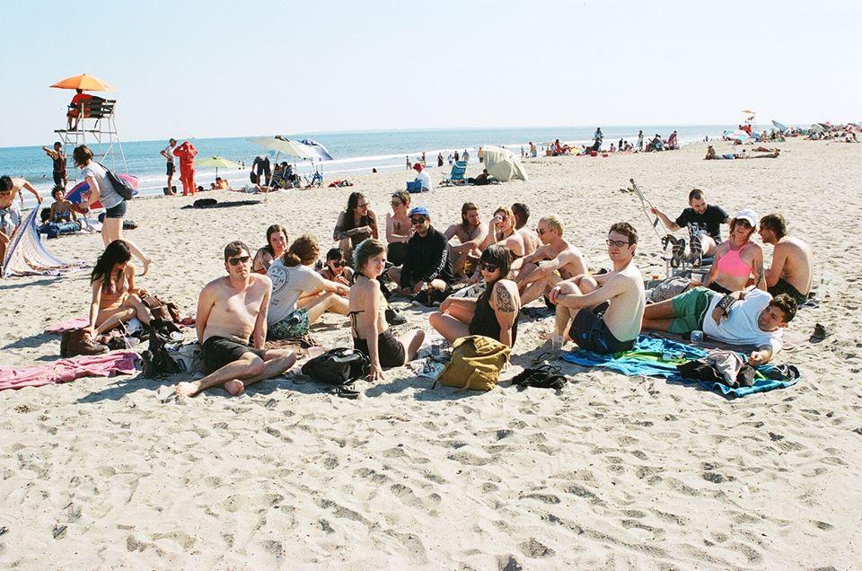 Incomplete beach crew... Far Rockaway.