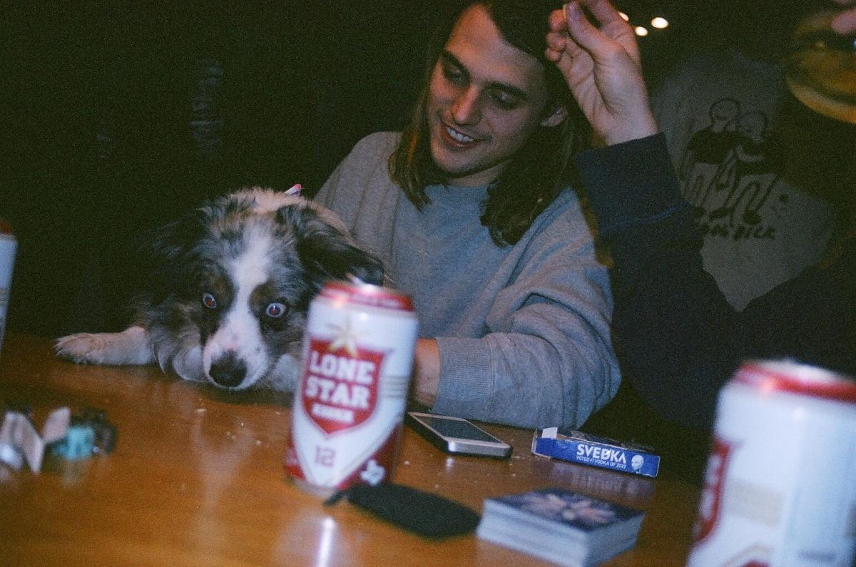 Fed up doggie, Austin.