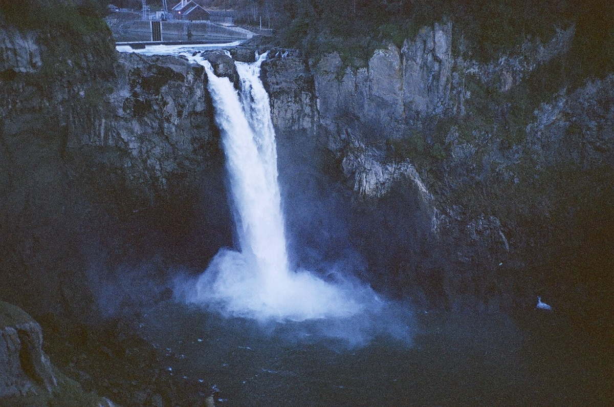 Snoqualmie Falls (as seen on Twin Peaks).