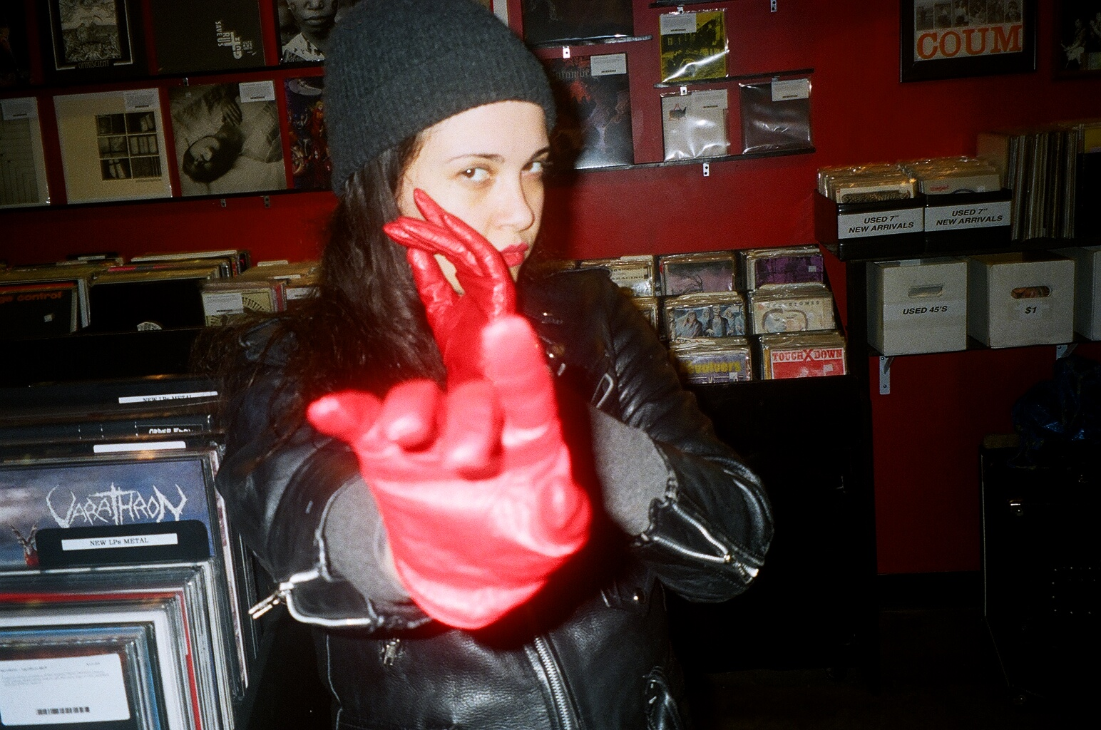 Chelsea Marks at Heaven Street Records.