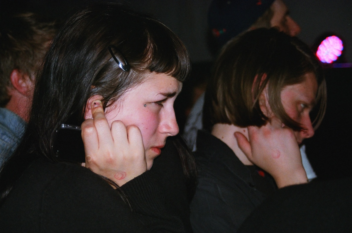 Crowds reaction to Pharmakon.